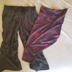 Bundle - 2 pr athletic capris